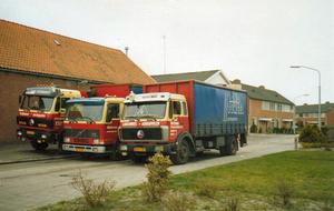 Wagenpark Werkman 1987