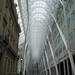 Oude gevels worden perfect geïntegreerd in de moderne gebouwen.