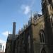 De zijgevel van de Cathedral.