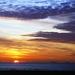 Zonsondergang Zeebrugge