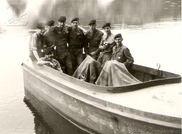 Foto gevechtsgenie Kassel 1964-65
