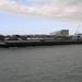 Sloehaven met boot  D 001