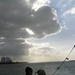 Sloehaven met boot  D 005