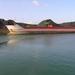 Sloehaven met boot  D 007