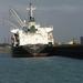 Sloehaven met boot  D 008