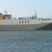 Sloehaven met boot  D 009