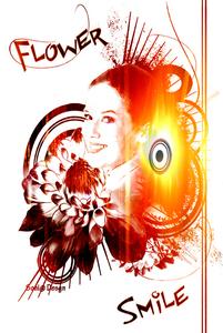flower smile uit creative