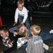 2009-10-17 verjaardagsfeest Bjarne 11 jaar Bjarne laat zich doen