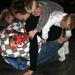 2009-10-17 verjaardagsfeest Bjarne 11 jaar Bjarne met anderen in