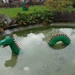 2009_10_31 029 Windsor Legoland - draak in Lego in water