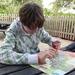 2009_10_31 035 Windsor Legoland - middag picknick - Benno drinkt