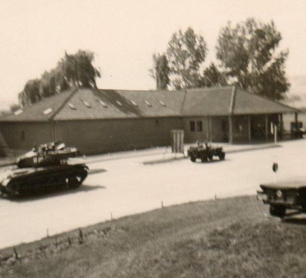 Ingang Kazerne De Gete 1961-62
