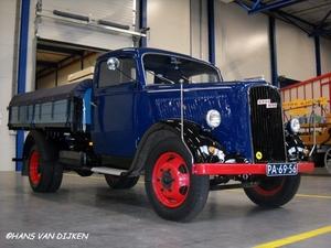 Zuidema - Sebaldeburen    Opel Blitz 1948