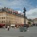 Lille _Place du Theatre, bij het centrale plein, met enkele karak
