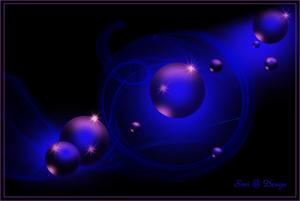 blauwe  bollen