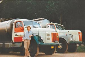 Volvo N86 en Scania 111