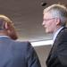 Burgemeester in gesprek met Klaas Knook