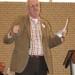 David Schoenmaker tijdens zijn toespraak