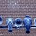 duiven op draad
