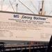 Georg Buchner 1989 als schoolschip in Rostock