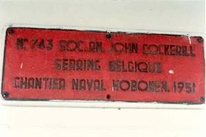 Georg Buchner de Charlesville identificatie van scheepswerf