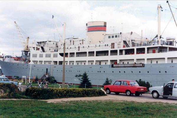 Georg Buchner sept 1989 bezoek Antwerpse delegatie
