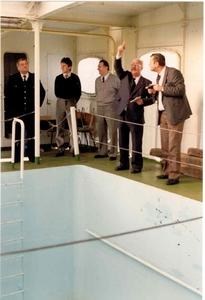 Georg Buchner '89  - ruimte rond zwemdok - men herkent Cdt. Delte