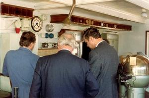 Georg Buchner '89 - scheepsbrug met magnetisch compas