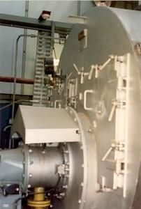 Georg Buchner '89 - ketel in de machine kamer