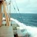 CMB schip m/v Rubens aug. 1967  Noord Atlant. Oceaan