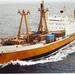 CMB schilderschip m/v Breughel in kleur