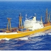 CMB schilderschip m/v Jordaens in kleur