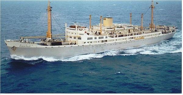 Cmb zusterschip Albertville , er waren 5 Congo passagierschepen