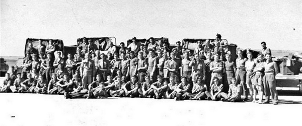 Groepsfoto 11e Linie regiment