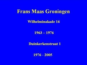Frans Maas - Groningen