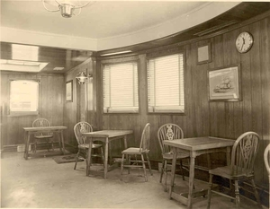 Charlesville origineel interieur  - Thea Room