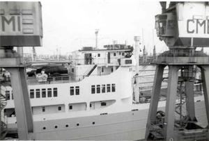 Vertrek Leopoldville kaai 214 Zeestation Aug 1966 N°2