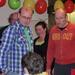 Ton, Hans, Anja en Frans