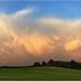 landschap met wolken 2