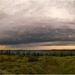 landschap met wolken