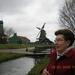 zicht op Zaandam