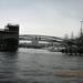 brug over gracht in Amsterdam
