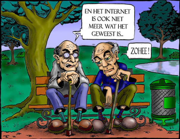 Afbeelding cartoon nostalgie internet