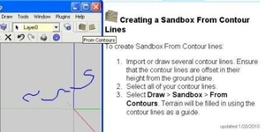 Sandbox from Contour Lines2