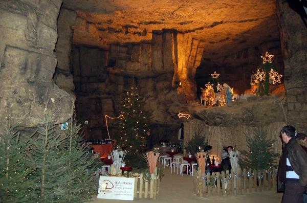 11 12 06 Valkenburg Kerstmarkt Gemeentegrot049 Valkenburg