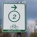 een fietsroute