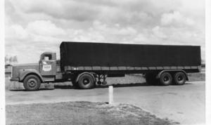 Scania  met York oplegger