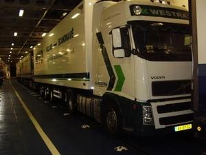 Westra - Dokkum    Op de ferry