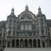 Het centraal station te Antwerpen (vertrekpunt)