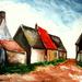 Landschapje naar M. De Vlaeminck